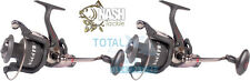 Nash NEW H-Gun FR5 Freespool Fishing Reels x2 - T2000