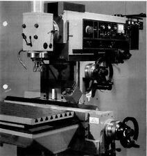 Fräsmaschine Ruhla VRB 2242 Duplex 3 WMW Heckert Bedienungsanleitung