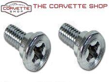 C2 C3 Corvette Seat Back Pivot Hinge Bolt Pair 1963-1970E x2062