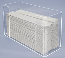 Paper Towel Napkin Dispenser Holder Display Clear Acrylic Multi fold Orgainzer