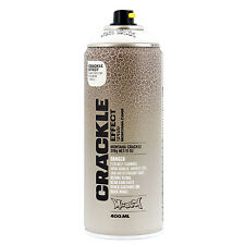 Montana Crackle Effect Spray Paint 11 oz (400ml) Pure White Urban Art - 1 Can