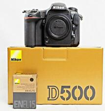 NEW - Nikon D500 USA Body & Extra Nikon EN-EL15 Battery, 64Gb SDHC & More!!