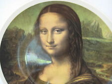 "Lord Nelson Pottery Staffordshire England ""Mona Lisa"" Plate, 10.5"" D X 1"" H"