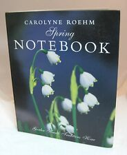 Carolyne Roehm Spring NoteBook New Never Used IN Great Shape
