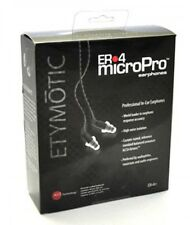 F/S Etymotic Research ER-4PT MicroPro earphones Brand New iPod iPhone