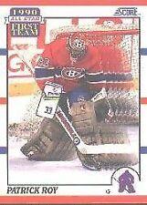 1990 Score Patrick Roy #312 Hockey Card