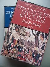2 Bd. Geschichte der Deutschen Revolution 1848-1849 von 1998