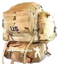 MOLLE II Desert Rucksack DCU camo  with 2 Sustainment pouches and cover US Army