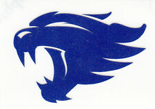 REFLECTIVE NEW University of Kentucky UK Wildcats fire helmet decal sticker yeti