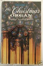 The Christmas Organ by Kenneth Abbott Volume 1 Cassette 1992 SEALED