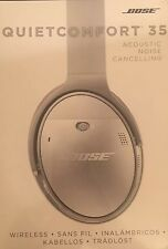 100% Genuine Bose QC35 QuietComfort Noise Canceling Wireless - Silver