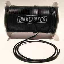 GEORGE L's BLACK .155 - BULK GUITAR FX PEDAL BOARD CABLE - SOLD BY THE FOOT