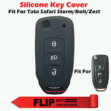 Silicone car key cover For Tata Safari Storm/Tata Bolt/Tata Zest Flip Key 1p