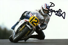 Roger Burnett Hand Signed Rothmans Honda 6x4 Photo.