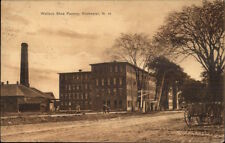 Rochester NH Wallace Shoe Factory c1910 Postcard