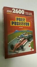 NEW Pole Position Game for Atari 2600 PAL VERSION Brown box NOT FOR USA & CANADA