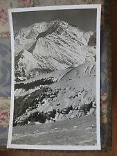CPA 1950 1960 Megève Le Mont Blanc vu du Mt d'Arbois Haute-Savoie