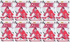 2012/13 SCORE HOCKEY 11-Pack Box - LOT OF 10!! CHANCE FOR AUTO!!!