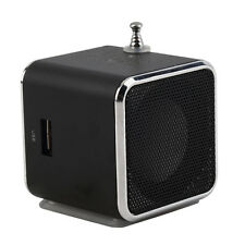 Portable TF USB Mini Stereo Speaker Music Player FM Radio PC MP3 /4 AO