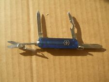 Victorinox Manager Swiss Army knife in translucent sapphire