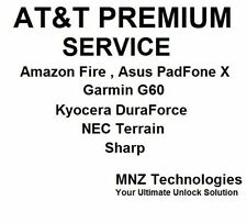 Only AT&T Unlock code Alcatel Kyocera C6745 Nokia Lumia Asus Padfon X & Others