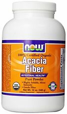 NOW Foods - ACACIA FIBER POWDER ORG 12 OZ