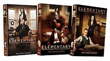 Elementary: The Complete Series Season 1-3 Dvd Set NEW