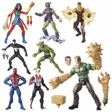 Marvel Legends Amazing Spider-Man 6 inch Figures Wave 7 Sandman BAF FULL SET
