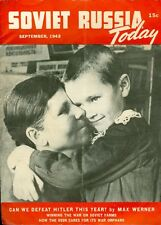 1943 Soviet Russia Today Magazine: Can We Defeat Hitler This Year?/USSR Orphans