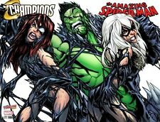 CHAMPIONS VOL.2 #1 AMAZING SPIDER-MAN VOL.4 #19 RAMOS VARIANT SET