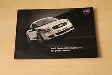 69262) Audi - Gebrauchtwagen plus - Prospekt 03/2005