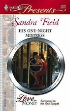 His One-Night Mistress by Field, Sandra, Good Book