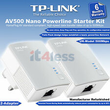 TP-LINK AV500 Nano Powerline Starter Kit TL-PA4010KIT Home Plug Gaming Adapter