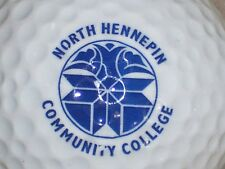 (1) NORTH HENNEPIN COMMUNITY COLLEGE NCAA LOGO GOLF BALL