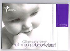 NEDERLAND BABY (GEBOORTE) SET 2003