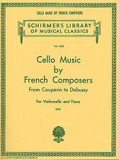 Cello Music By French Composers Couperin Debussy Play Piano Music Book