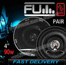 "FLI Underground FU4 4"" inch 100mm 90w 2 Way Car Door Coaxial Speakers Set - Pair"