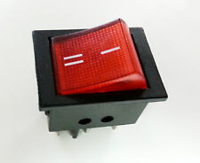 1pc Illuminated Rocket Rocker Switch 6 Pin Pins DPDT ON-ON + USA Free ship
