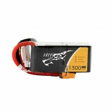 GENS ACE Tattu 1300mAh 75C 4S 14.8V 1P Lipo Battery XT60 - FPV  Battery drone