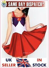 Sailor mars robe costume cosplay anime school uniform living japonais morts Moon