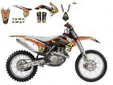 BLACKBIRD KTM 125 EXC 2014 2015 2016 KIT GRAFICHE ADESIVI ARMA ENERGY GRAPHICS