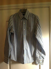 Men's Real Stripe Abercrombie & Fitch Muscle Shirt Size S Small