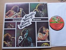 DENNIS BROWN,JOSEPH´S COAT OF MANY COLOURS lp vg+/vg+ joe gibbs music 6008 USA