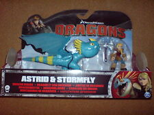 DREAMWORKS DRAGONS - ASTRID AND STORMFLY NEW