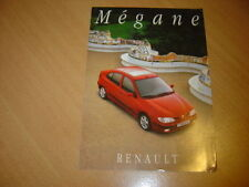 DEPLIANT Renault Megane de 1996