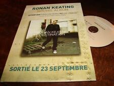 RONAN KEATING DESTINATION!!!!!!!FRENCH PRESS/KIT+PRO CD