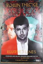 ROBIN THICKE Blurred Lines Poster Print 14x22 2013