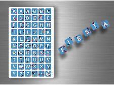 60x adesivi adesivo sticker alfabeto scrapbooking diy lettere auto moto r6 nomi