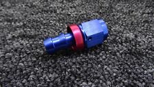 AN -6 AN6 JIC Straight Swivel PUSH ON BARB Tail Fuel Oil Braided Hose Fitting