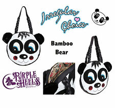Irregular Choice Limited Edition Bamboo Bear Black & White Panda XL Weekend Bag